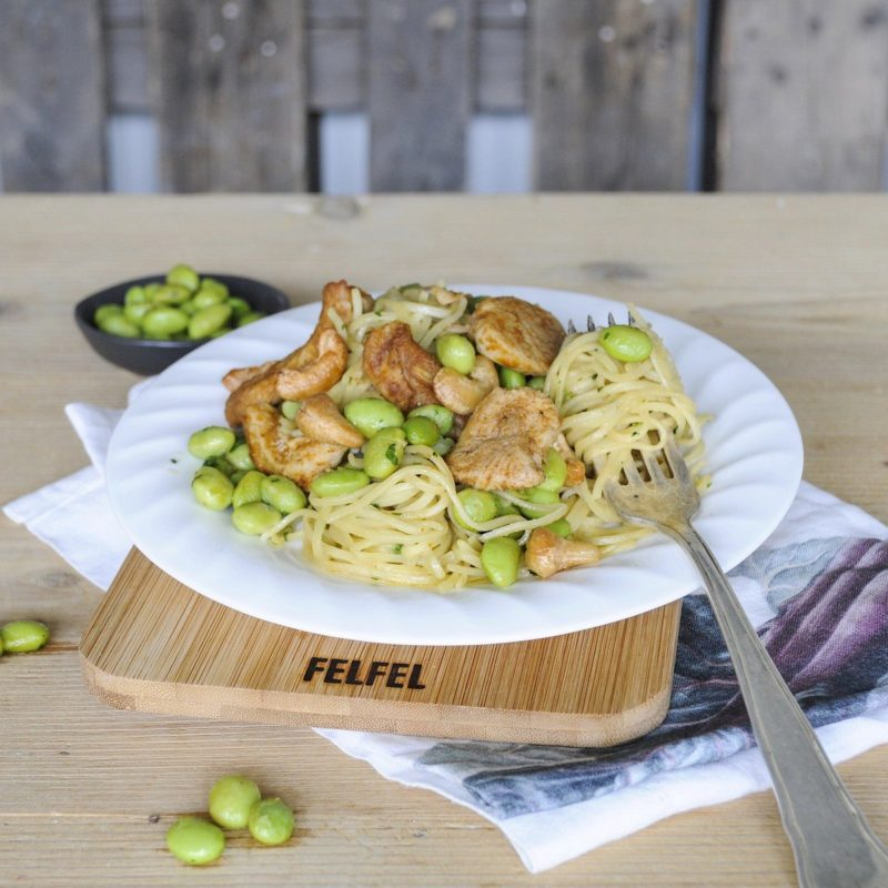 SATAY CHICKEN NOODLES FELFEL menu meal