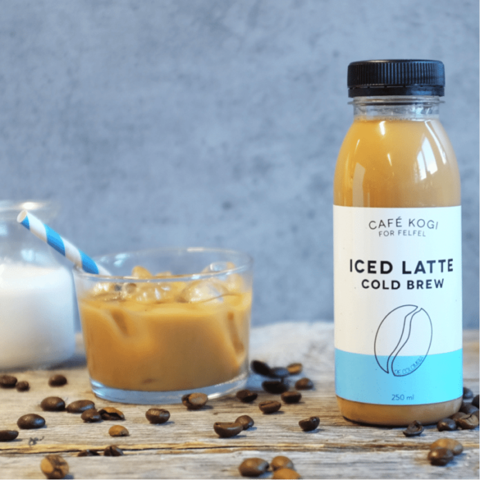 Coffee machine for the office Switzerland: Iced Latte - Cold Brew from café Kogi specially made for FELFEL