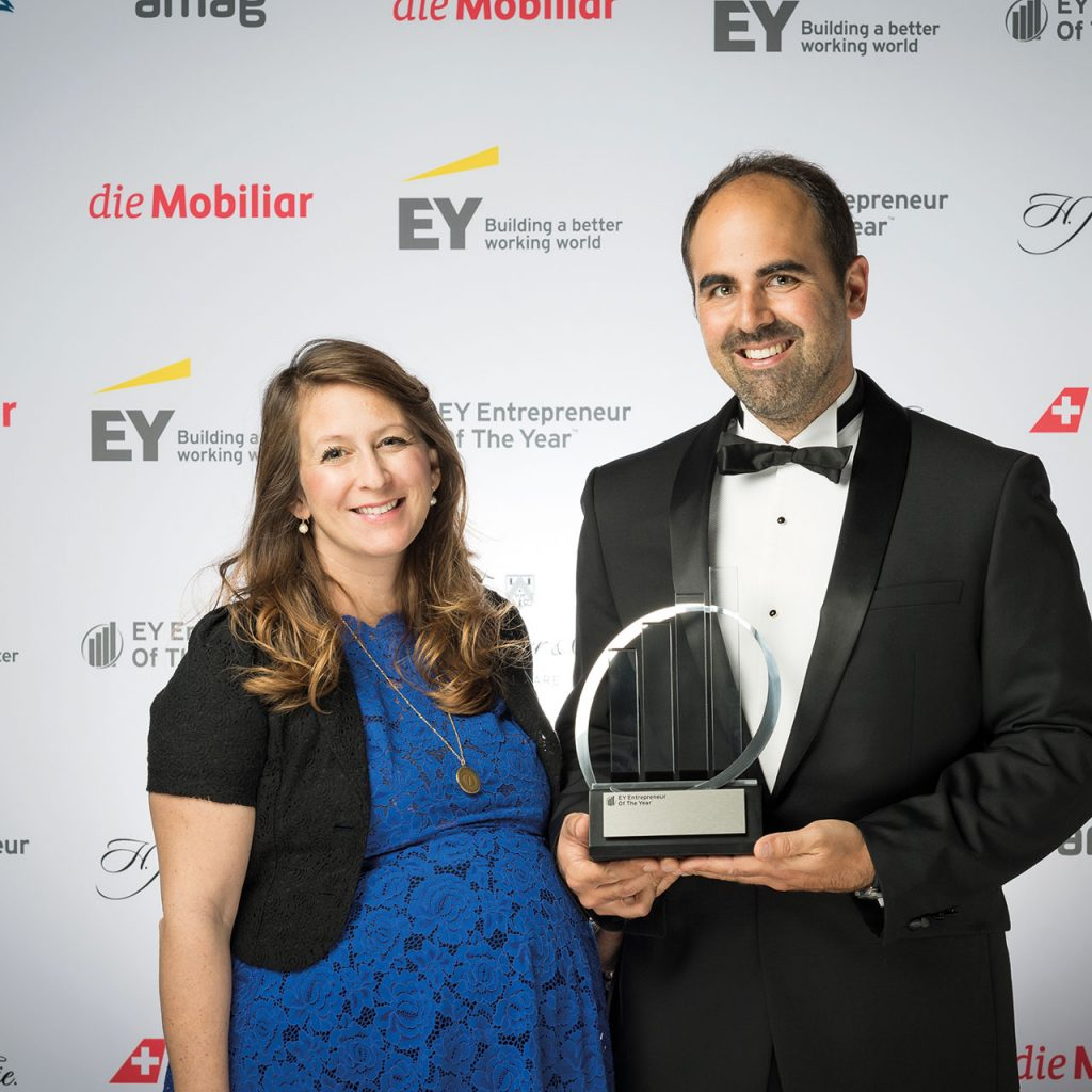 Daniela & Emanuel Steiner, Gewinner des EY Entrepreneur of the Year Award