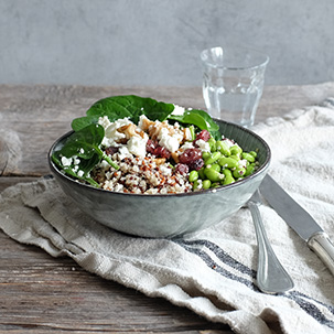 delicious low carb salad for the office by FELFEL