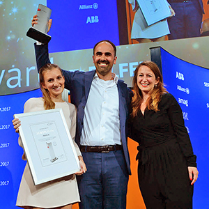 FELFEL gewinnt Swiss Economic Forum award 2017