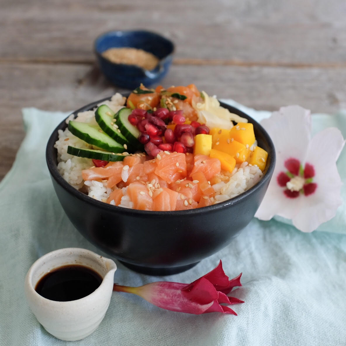 poke bowl recipes for the office